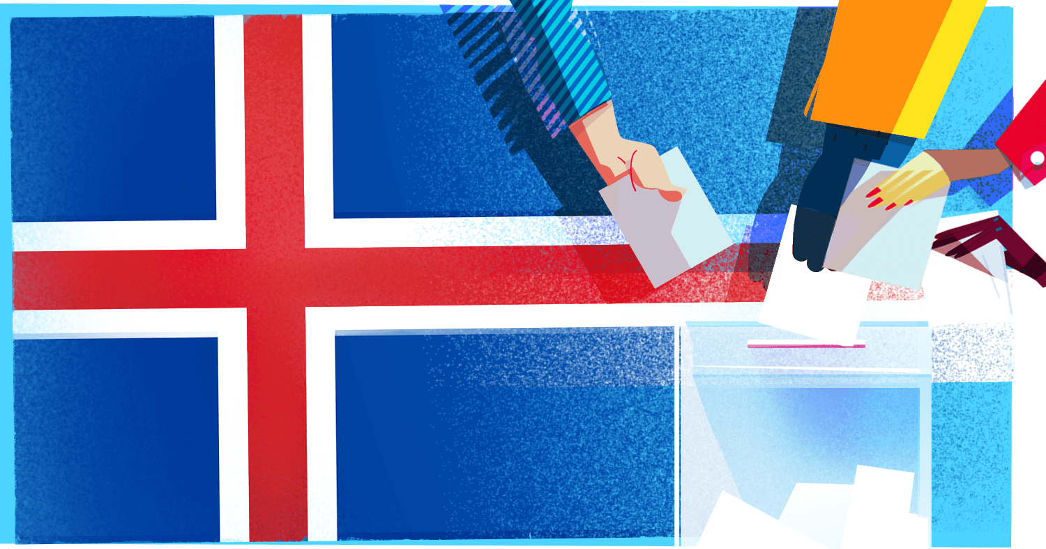 ZEF's Voting Aid in the Centre of the Icelandic Parliamentary Elections