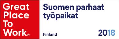 Suomen paras työpaikka 2018 ZEF