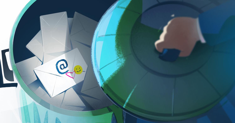 Kuinka välttää kutsuviestin joutumisen roskapostiin?