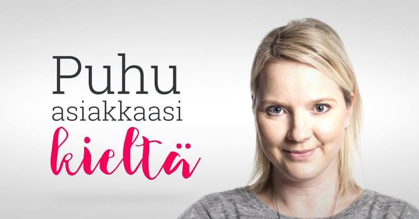 Emmi Berlin: Puhu asiakkaasi kieltä