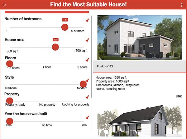 Find the Most Suitable House