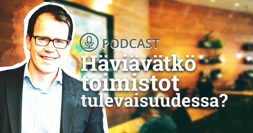 Haastattelussa Perttu Ahvenainen - Häviävätkö toimistot tulevaisuudessa?